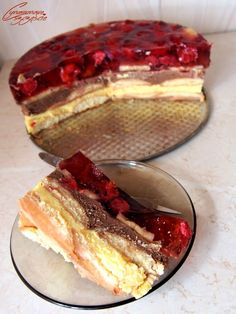 owoce Polish Desserts, Polish Recipes, Cookie Desserts, Polish Food, Sweets Cake, Food Cakes, Cake Cookies, Cake Recipes, Sweet Tooth