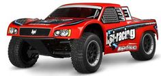 HPI Racing 1/5 Baja 5SC 2.4GHz RTR Red. I would love one of these but it would run out of room in my backyard fast.
