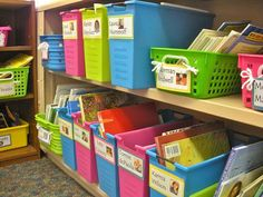 Separate classroom books by popular authors