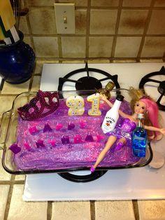 Ashley's 21st Birthday Cake.