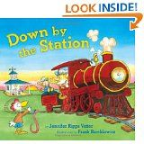 "Activity to go along with ""Down by the Station"" by Jennifer Riggs Vetter"
