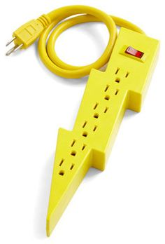 Jason's Super Power Strip - eclectic - home electronics - ModCloth