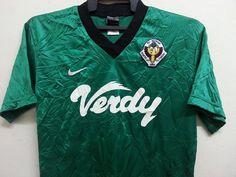 Sale Rare Fc Tokyo Verdy Nike Japan J-League by SuzzaneVintage Tokyo Verdy, Fc Tokyo, J League, Football Shirts, Japan, Nike, Retro, Trending Outfits, Mens Tops