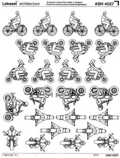 letraset on wheels