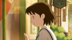 """Wonder Garden"" short directed by former Studio Ghibli animator Yojiro Arai (Up On Poppy Hill, Arriety) - The story is about a young girl transported to a magical world by a teddy bear... ★ 