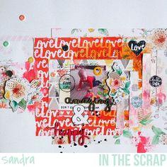In The Scrap: Layout Amy Tangerine - Por Sandra