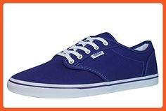 Vans Atwood Low Unisex Canvas Trainers / Shoes-Blue-4.5 - Sneakers for women (*Amazon Partner-Link)
