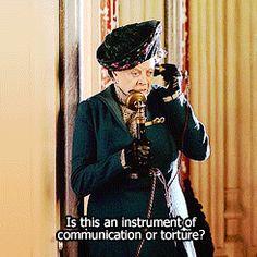 I love Maggie Smith.