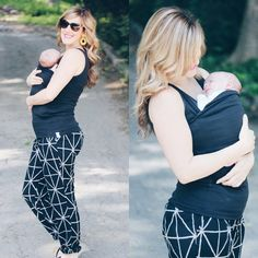 """""""I got this @lalabubaby Soothe Shirt and it has been a lifesaver when coming to running errands with my little one. Instead of lugging around the heavy carrier for a quick errand, I simply slip him into my Soothe Shirt and do what I have to do with ease. Its a win-win situation as baby is happy and mommy is happy."""""""