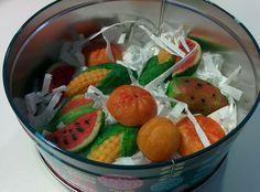 Martorana Marzipan Fruit and the sicilian Feast of the Dead Marzipan Fruit, Sicilian, My Recipes, Watermelon, Treats, Halloween, Food, Italia, Sweet Like Candy