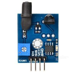 38khz enhanced infrared anti interference obstacle avoidance module blue color blue model n