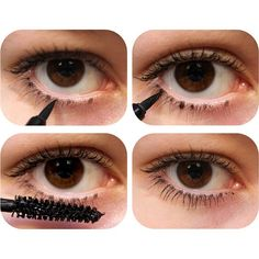 Tip: Draw bottom lashes for a fuller effect! | thebeautyspotqld.com.au