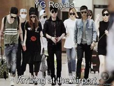 YG entertainment is just that cool. We Are YG Family Family Family