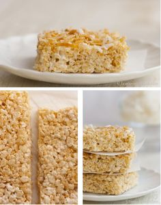 Make your Rice Krispies healthy with one simple ingredient swap!