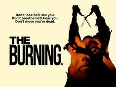 Horror Movie Posters, Horror Movies, You're Dead, Burns, Horror Films, Scary Movies