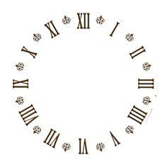 AMARNA ARTESANATO E IMAGENS: FUNDOS PARA RELÓGIO Clock Art, Diy Clock, Wall Clocks, Printable Designs, Printables, Free Printable, Clock Face Printable, Clock Template, Wooden Gear Clock