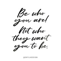 Be who you are... always!  Made with my font May Wilde www.etsy.com/listing/503831343   #font #quote #handlettering #be #who #you #are #brush