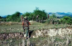 Vietnam War 1968 - U.S. infantry soldiers on patrol in I Corps Quang Ngai Province | by manhhai