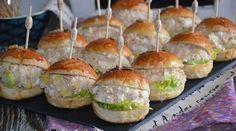 mini burger froid au thon