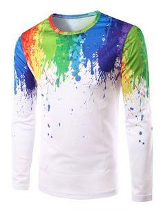 7b58f9d4271675 top fashion 2016 mens t shirt long tshirt homme fitness tops   tees casual t-shirts  camisetas printed brand clothing