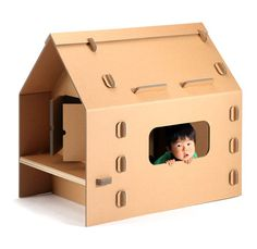 Cardboard playground toys kids room furniture ideas