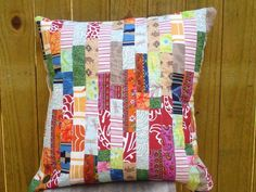 string quilt pillow | String Quilted Pillow