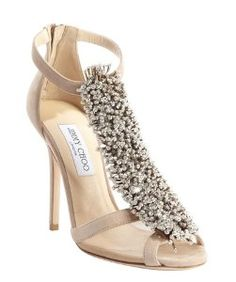 Jimmy Choonude suede crystal pin  Fortune  heel sandals Pin Up Shoes 98f349f815b