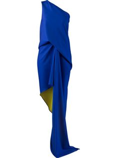 MAISON RABIH KAYROUZ One-Shoulder Dress