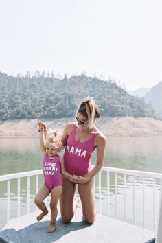 GOT IT FROM MY MAMA 2 Mommy and Me Matching Set One Piece Swimsuit/Bikini/Bodysuit multiple colors Plus Size Available Source by storenvy and me outfits Ava Elizabeth Phillippe, Mother Daughter Matching Outfits, Mommy And Me Outfits, Family Outfits, Mommy And Me Swimwear, Bikini Poses, Baby Kids Clothes, Swimsuits, Bikinis