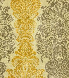 Home Decor Print Fabric- Waverly Fresco Finale Umber & home decor print fabric at Joann.com