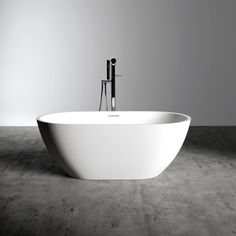 Lusso Stone Picasso Compact Stone Resin Solid Surface Freestanding Bath 1400 | Stone Resin Baths