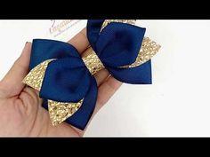 Ribbon Art, Ribbon Hair Bows, Diy Ribbon, Felt Flower Template, Lace Painting, Hand Embroidery Flowers, Cute Headbands, Baby Hair Bows, Boutique Hair Bows