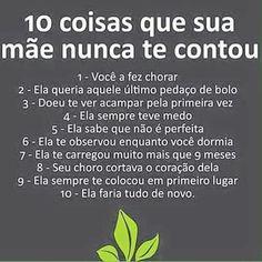10 coisas de mãe