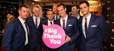 The Great British David Cup team led by BBC Sports Personality 2015 winner Andy Murray. #BigThankYou