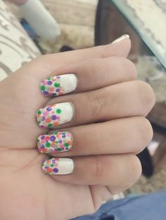 Multi colour dots