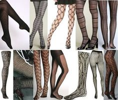 Patterned Tights | black_patterned_tights