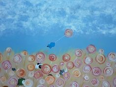 This Is Harder Than It Looks - acrylic on canvas by Catherine Pang-Murray Dumpling, Illustrations, Watercolor, Canvas, Design, Pen And Wash, Tela, Watercolor Painting, Illustration