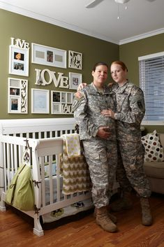 Portraits Of Gay Military Members Who Serve In Silence Under DOMA: Lilly and Ashley