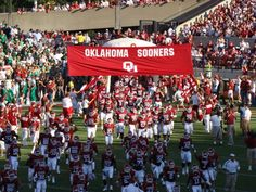 So proud to have these boys representing my school. Boomer Sooner!