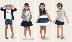 Inspiration for Girls 2 - 3 years old for simple clothes Fashion Niños, Teen Girl Fashion, Little Girl Fashion, Fashion Sewing, Kids Fashion, Cute Girl Outfits, Kids Outfits, Latest Fashion News, Junior Fashion