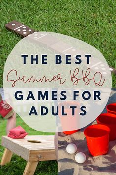 Games are essential to any good party, andthe perfect BBQ has have to have some of the best games to play. Here are our favorite BBQ Games for Adults! Outside Party Games, Camping Party Games, Luau Party Games, Bbq Games, Backyard Party Games, Dinner Party Games, Outdoor Party Games, Adult Party Games, Adult Games
