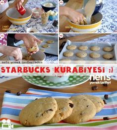 Starbucks Kurabiye Tarifi
