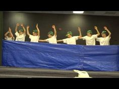 5th Grade Boys Synchronized Swimming Talent Show Skit - YouTube