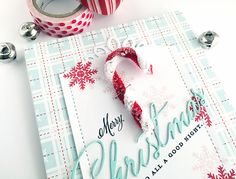 Homespun with Heart: Creative Cardmaker: Sugared Candy Canes...