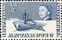 British Antarctic Territory 1963 SG 14 Ship R R S Shackleton Fine Mint SG 14 Scott 14 Other British Antartic Territory Stamps HERE