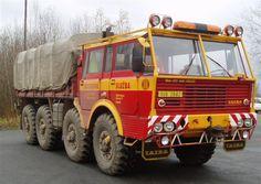 Tatra T813 8X8 Dump Trucks, Tow Truck, Cool Trucks, Big Trucks, Heavy Duty Trucks, Heavy Truck, Offroad, Camper Caravan, Cab Over