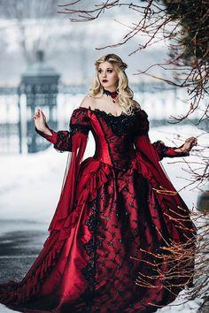 Gothique de couchage taille et beauté princesse par RomanticThreads