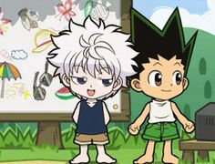 Read Welcome back (Gon x Killua) - The theifing white blur - Wattpad