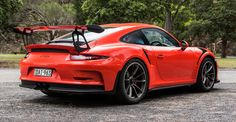 The 2016 911 RS is the most track-focused road car that Porsche currently builds, but what's it like to drive on the road? Porsche 911 Gt3, 2016 Cars, Rs 4, Gt3 Rs, Modified Cars, Carrera, Luxury Cars, Dream Cars, Autos