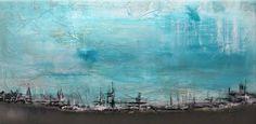 Abstract Art on Canvas Restful by Matt Leblanc
